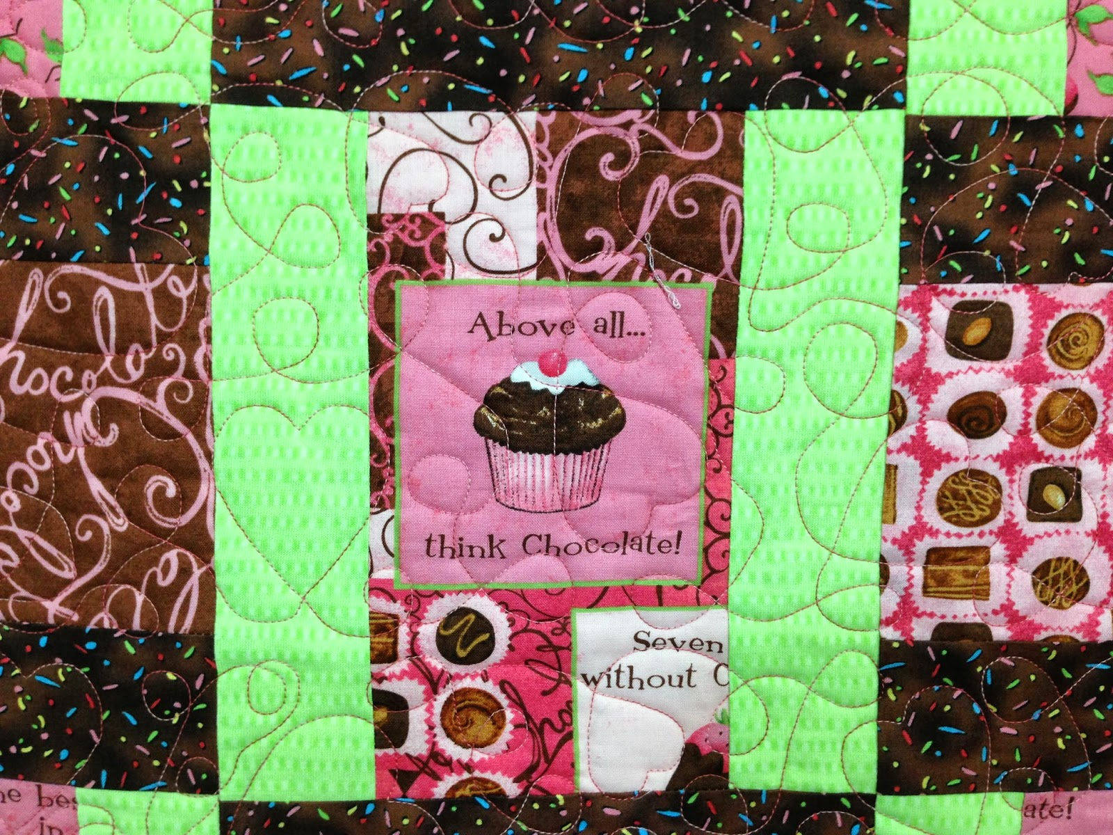 Julis McMahon Chocolate Lovers Quilt