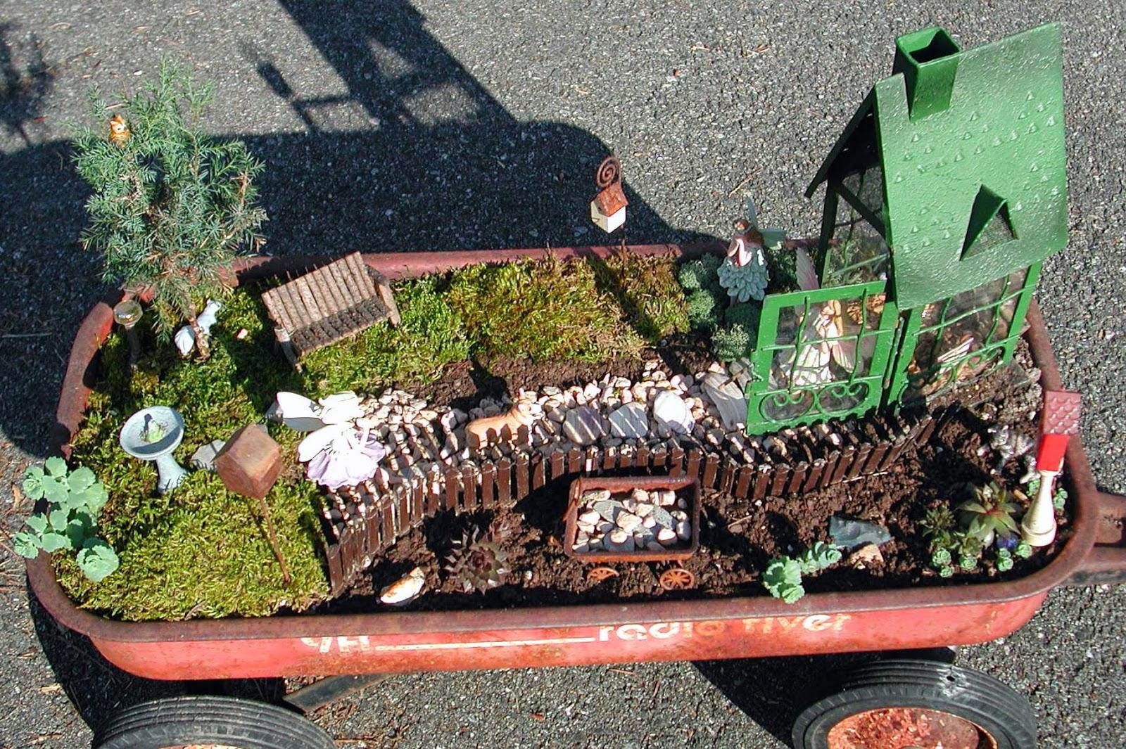 Redoing My Fairy Garden