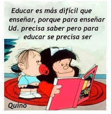 Educar es más difícil que enseñar