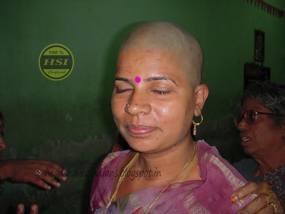 Two Indian Family Goto Headshave And Kids Ear Piercing