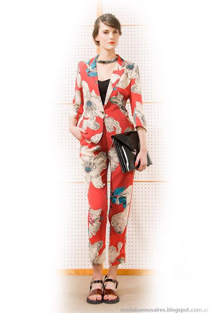 Las Pepas trajes de mujer 2014. Moda primavera verano 2014.