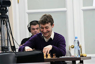 Echecs à Moscou : le grand-maître Luke McShane - Photo © ChessBase