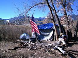 Colorado Springs, Colorado Homeless Veterans and Homeless Citizens