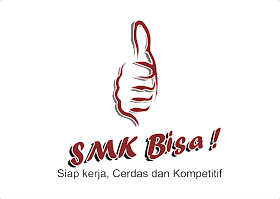 SMK Bisa Logo Vector download free