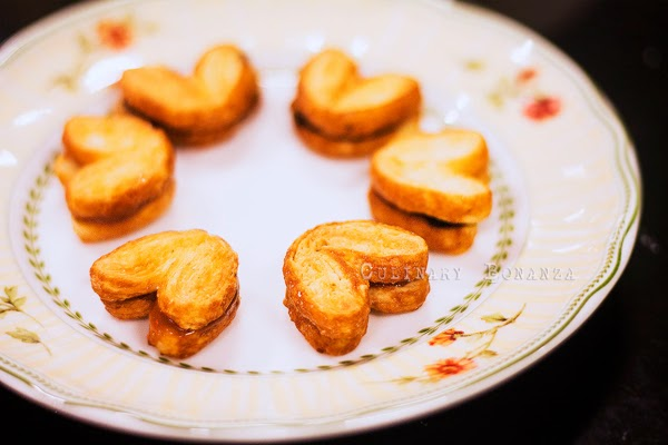A Bag of Love - mini Genji Pie sandwiches with salted caramel or chili chocolate fillings
