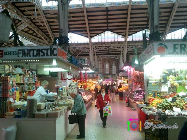 El Mercado Central a las 9:30