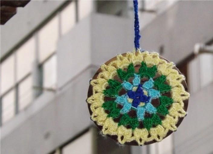Mandala de crochet o ganchillo