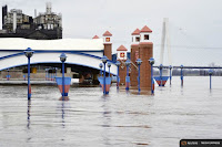 Flooding, like the current Mississippi River overflow in places like St. Louis, creates the most damage of all natural disasters in the U.S. (Credit: Reuters.) Click to Enlarge.