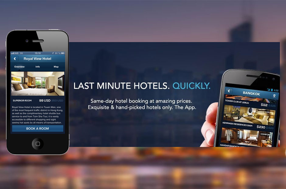 Review of hotelquickly your last minute hotel booking app for Last minute warnemunde hotel