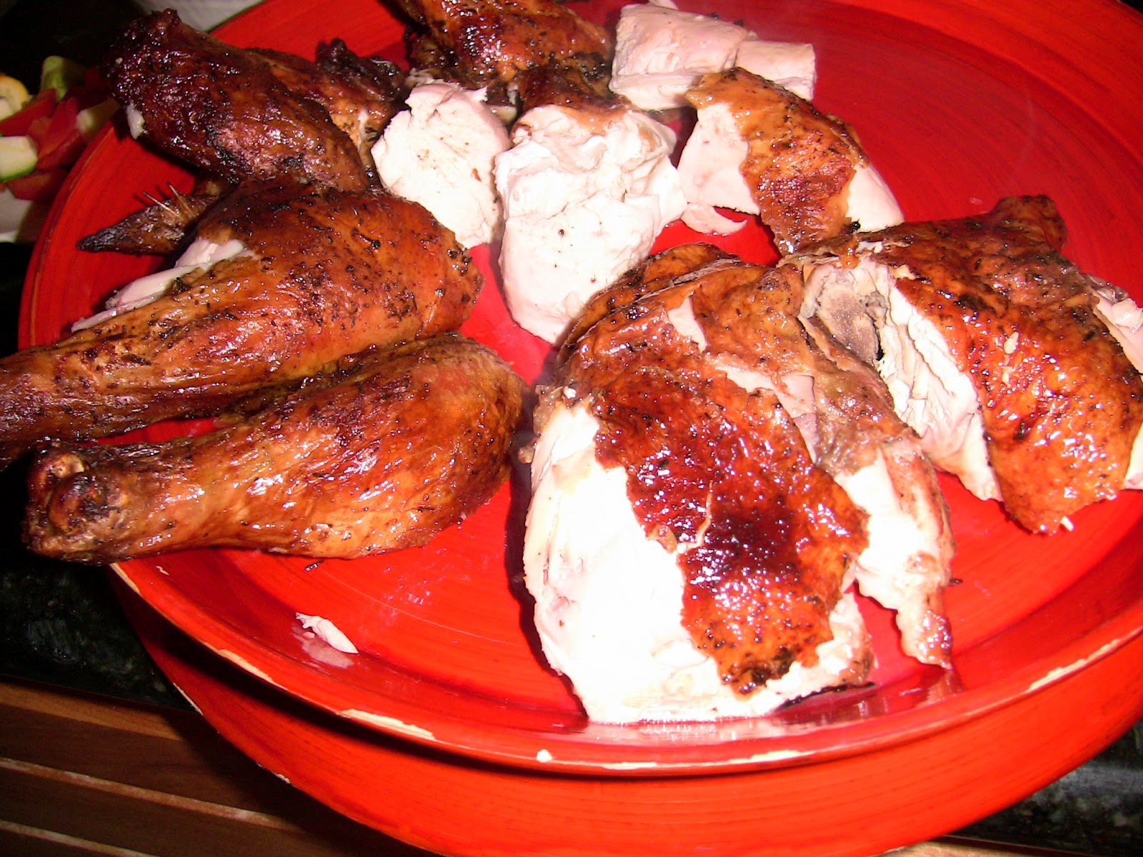 how to cook a whole chicken on a weber grill