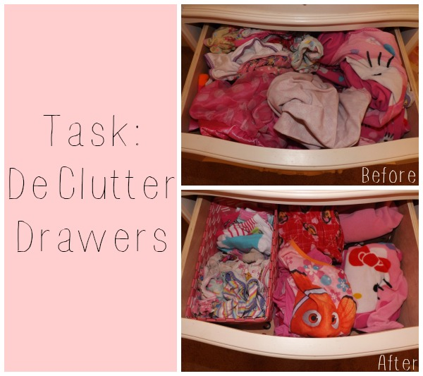 De-Clutter Challenge Week 2 ~ Girls Bedroom