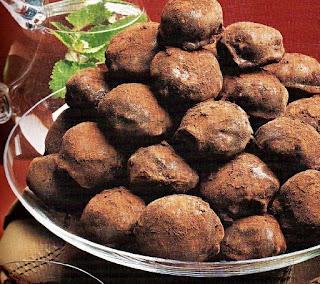Receta Bombones deliciosos de Chocolate