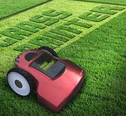 Nova tecnologia - cortar grama