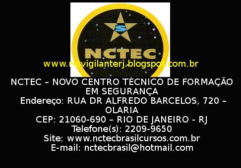 Rio Vigilante: CENTRO DE FORMAÇÃO DE VIGILANTES - RJ