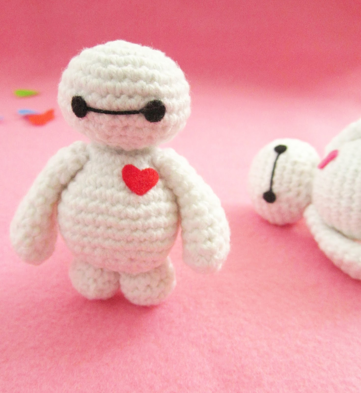 Amigurumi Change Yarn : Baymax amigurumi pattern - A little love everyday!