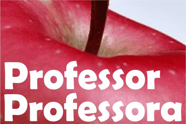 Diário: uma maçã para o professor!