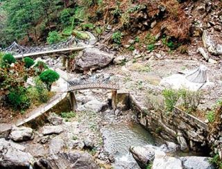 Bimal Gurung promised to renovate Rock Garden tourist spot in Darjeeling