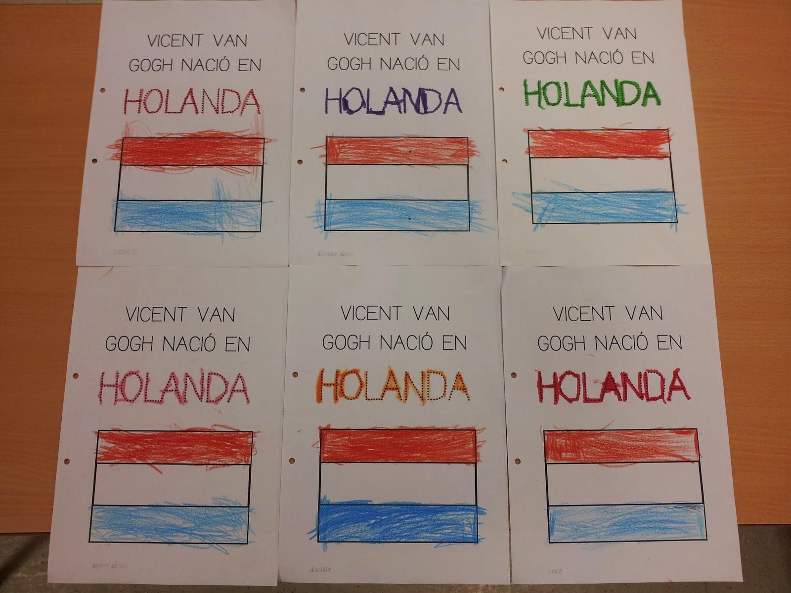 Trabajando en Educación Infantil: Van Gogh 8: Holanda, Theo e ...