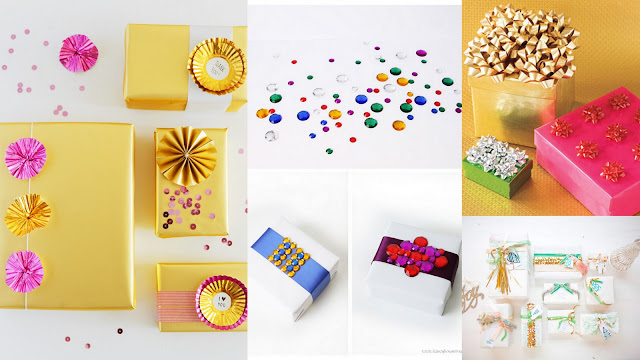 gift wrapping party ideas gift topper ideas