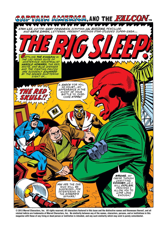 Captain America (1968) Issue #148 #62 - English 2