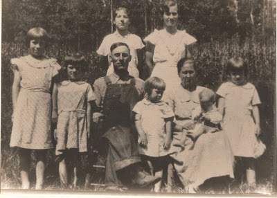 Family of Eva and Ezra Martin Summer of 1934