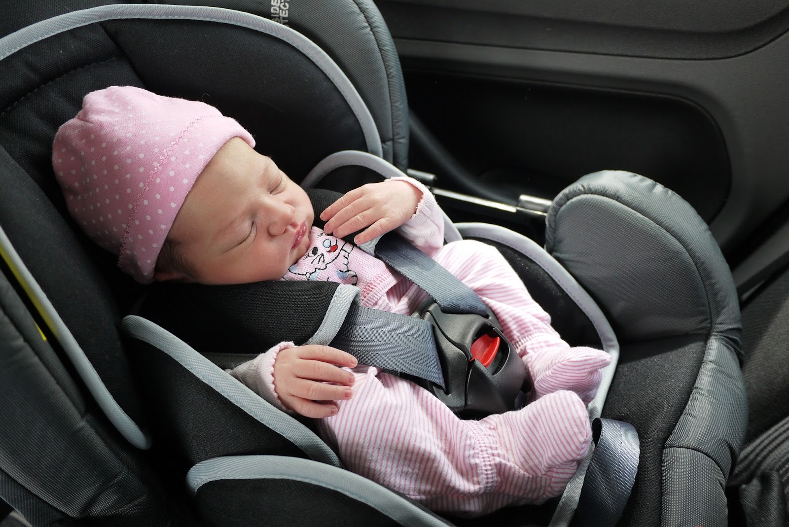 Our experience with ERF car seat