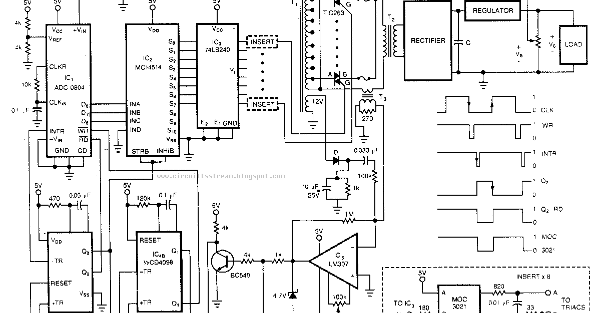 pre regulated high voltage power supply wiring diagram