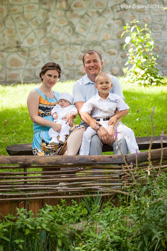 Празднование крещения Егора. Фотосессия детского праздника