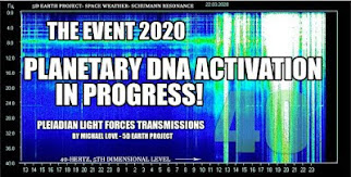 MICHAEL LOVE: *** DAS EVENT 2020- DIE PLANETARISCHE DNA-AKTIVIERUNG IST IM GANGE! ***