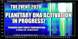 MICHAEL LOVE: *** DAS EVENT 2020- DIE PLANETARISCHE DNA-AKTIVIERUNG IST IM GANGE! ***
