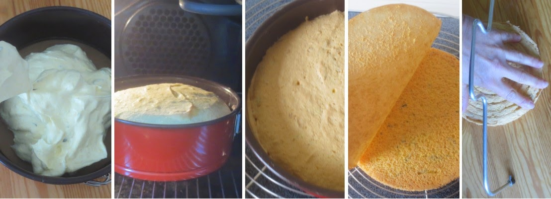 Zubereitung Hugo-Torte