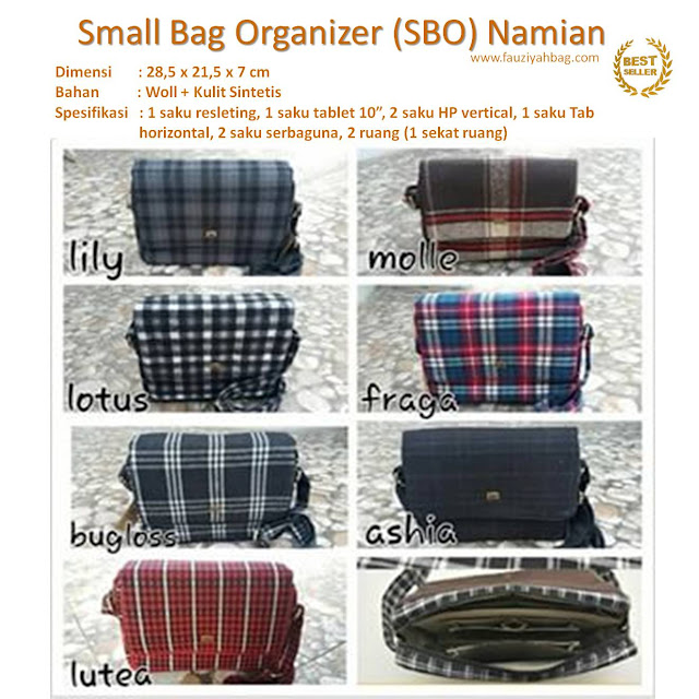 Small Bag Organizer (SBO)