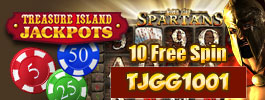 Treasure Island Jackpots Casino Promotion