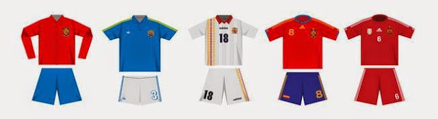 2014西班牙球衣