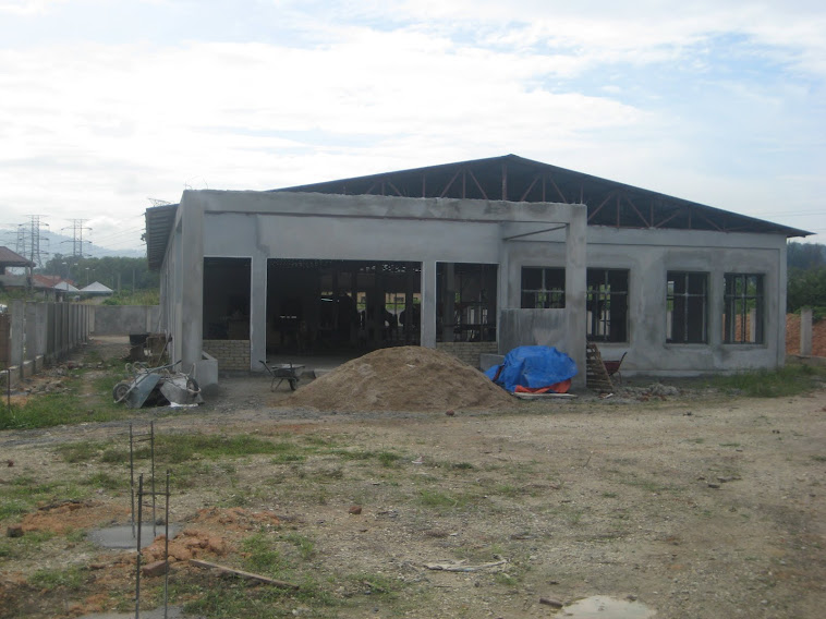 PROGRESS REPORT:  Updates - Photos of Construction Progress at ILTC Project on 02/02/2012