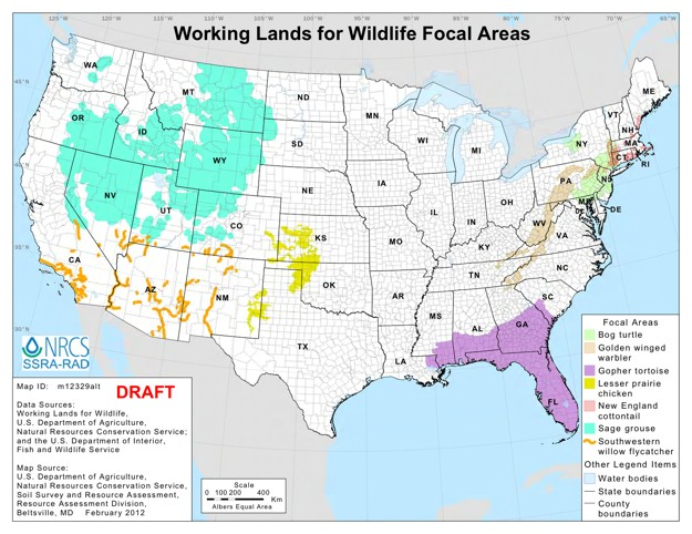 The Program Aims To Dole Out 33 Million To Ranchers Farmers And Forest Landowners Who Sign On To Restore High Priority Habitats For The Greater