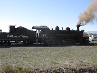 cumbres and toltec railroad locomotive