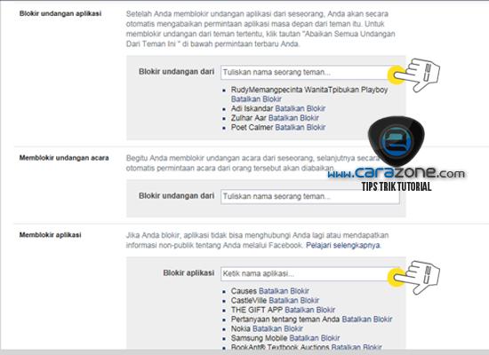 Cara Memblokir Undangan Aplikasi atau Games di Facebook