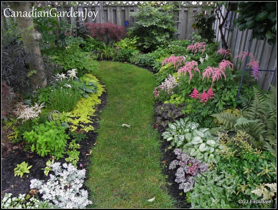 Canadian garden joy shade garden ideas pinterest for Garden design ideas canada