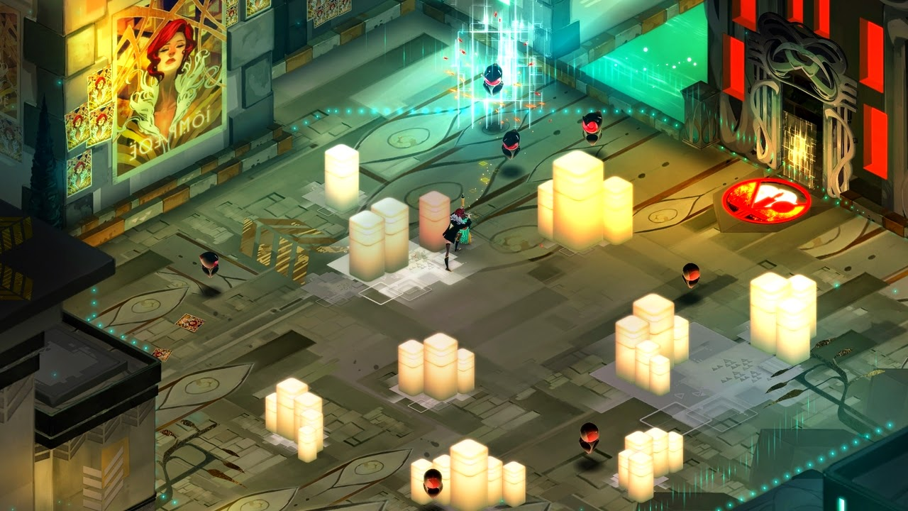 Transistor game screenshots