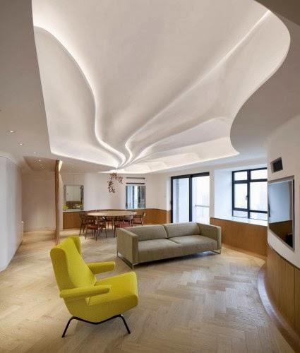 7 Gypsum False Ceiling Designs For Living Room Part 2