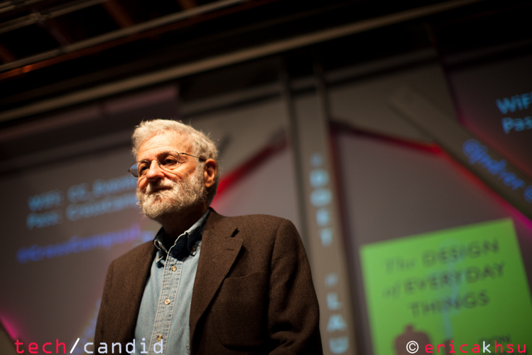 Don Norman, author of The Design of Everyday Things, at LAUX Meetup event