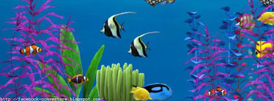 Une jolie image de Couverture Facebook Aquarium
