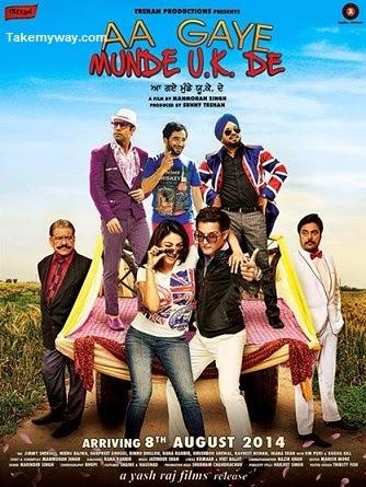 Aa Gaye Munde UK De (2014) Punjabi HDRip 700mb x264