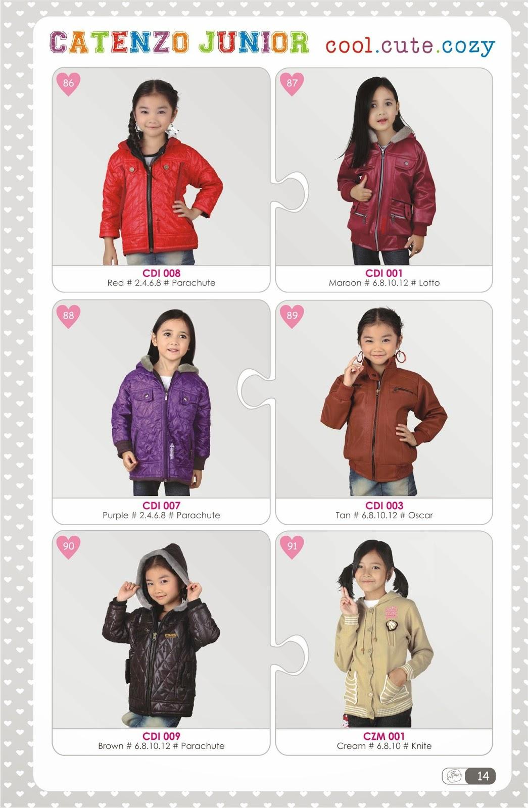 jaket anak wanita lucu