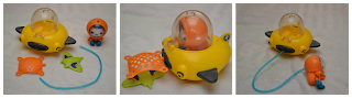 Gup D+Mission+Vehicle+and+Barnacles New line of Octonauts toys by Fisher  Price