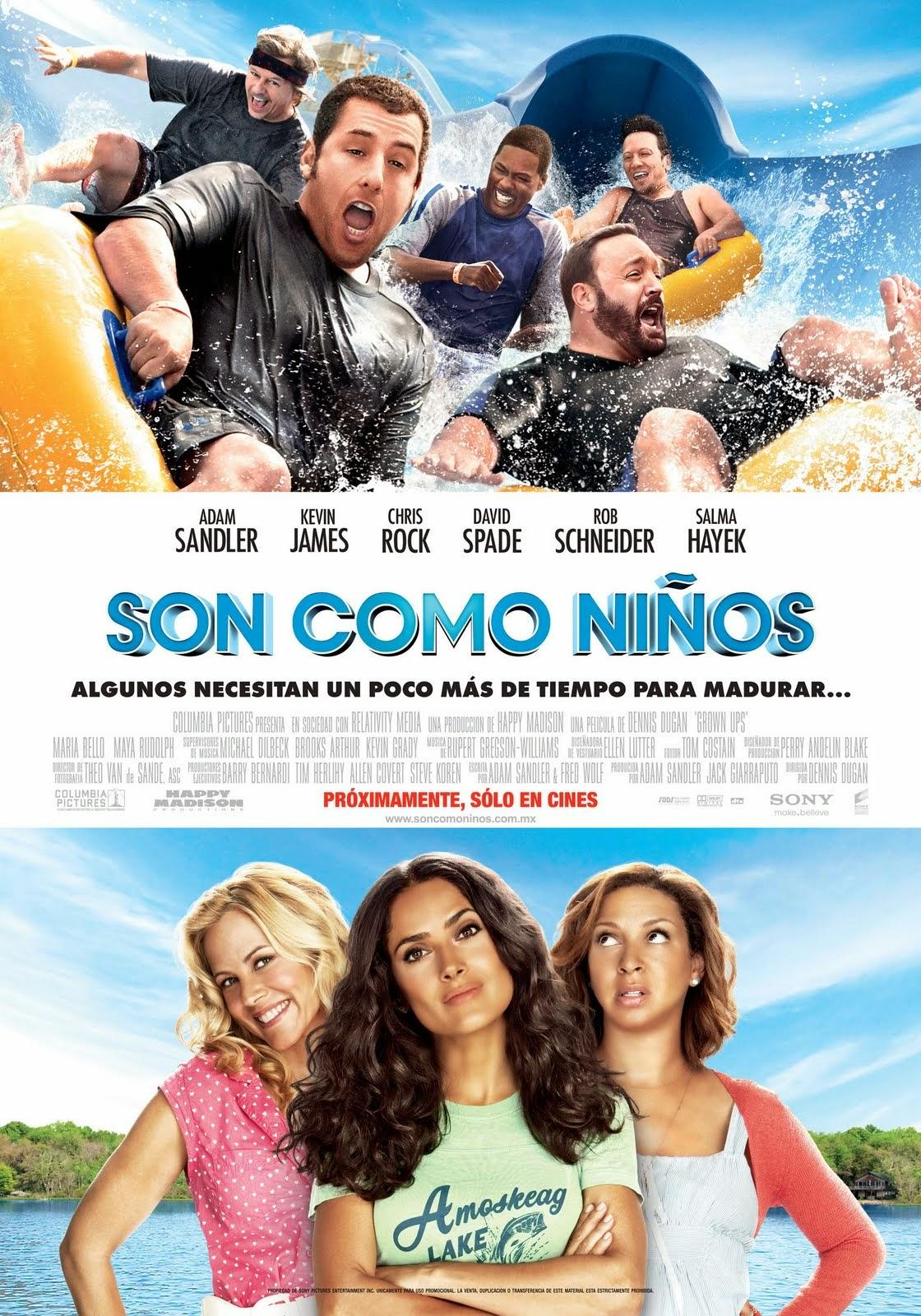 Son como niños [2010] DVDRip Latino