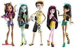 Monster High en la playa