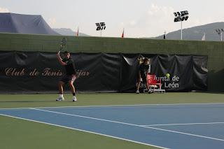 El tenista vallisoletano Jorge Hernando no pudo pasar de semifinales