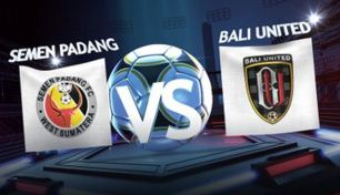 Semen Padang Taklukkan Bali United 2-0